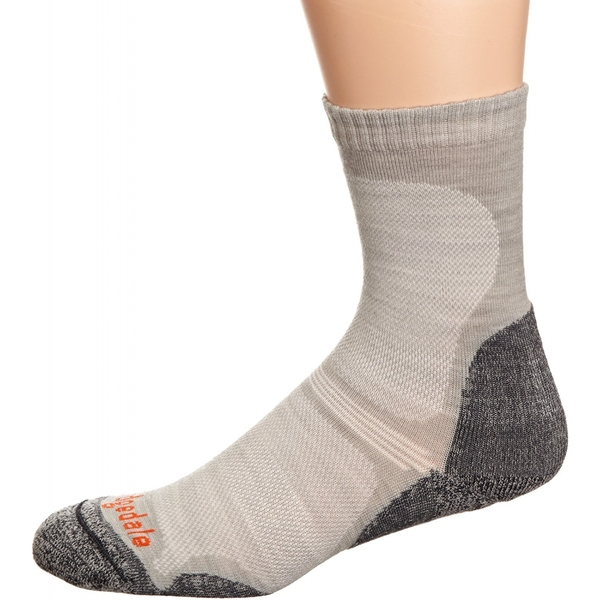 Bridgedale Woolfusion Trail Ultra Light Men's Sock, Grey - XL - Image 1