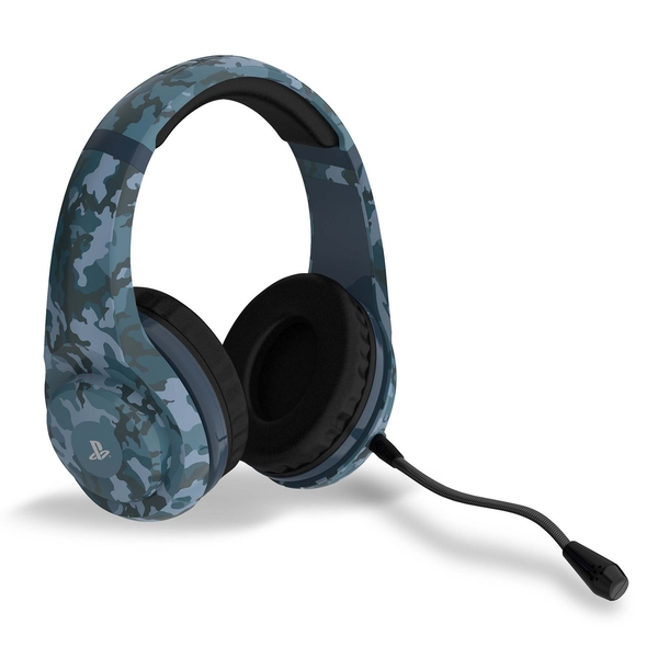 4Gamers PRO4-70 Midnight Edition Camo Stereo Gaming Headset for PS4