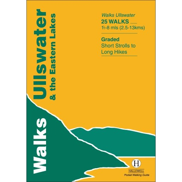 Walks Ullswater and the Eastern Lakes by Richard Hallewell (Paperback, 1998)