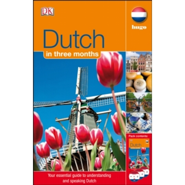 Dutch In 3 Months (with Audio CD) (Hugo in 3 Months CD Language Course) Paperback