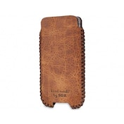 SOX Western Genuine Leather Hand Made Mobile Phone Pouch for iPhone/Samsung and more, Large, Desert (SOX KSWES 03 L)