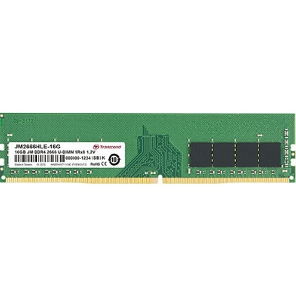 Image of Transcend 16GB (1 x 16GB) DDR4 2666MHz System Memory