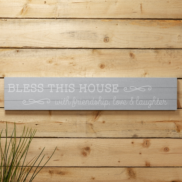 Love Life Giant Plaque - Bless This House