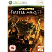 Warhammer Battle March Game Xbox 360