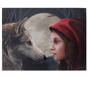 Medium Moonstruck Canvas Picture by Lisa Parker