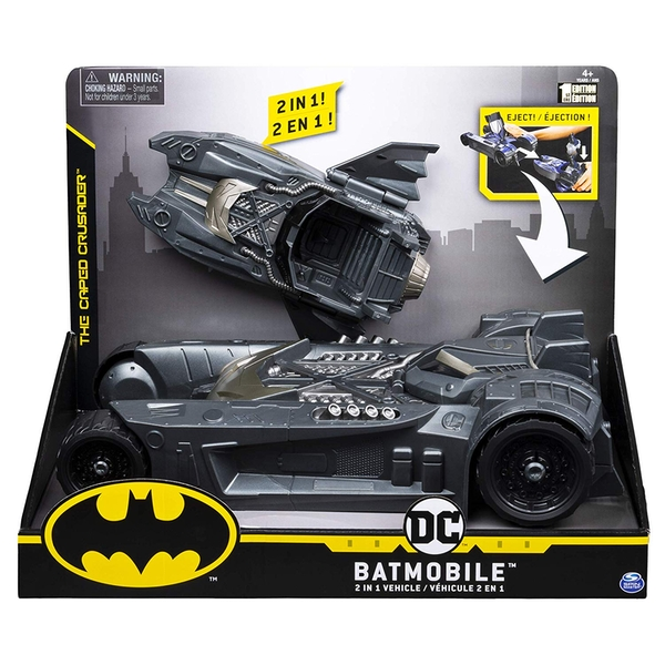 Batman Batmobile and Batboat - 2-in-1 Transforming Vehicle