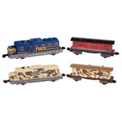 Power Trains Motorized Freight Train Set Random