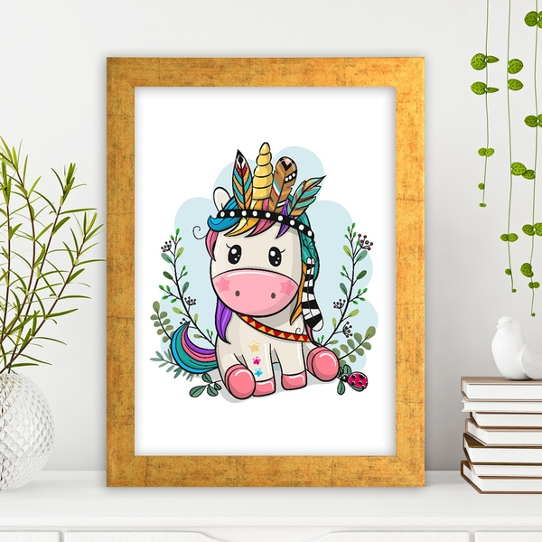 AC1528106792 Multicolor Decorative Framed MDF Painting