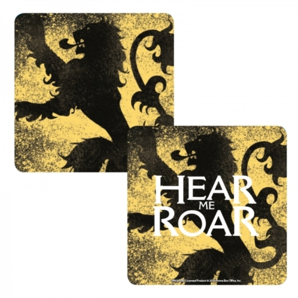 Game Of Thrones - Lannister Lenticular Single Coaster