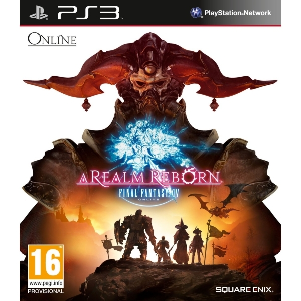 Final Fantasy XIV 14 A Realm Reborn (Online) Game PS3