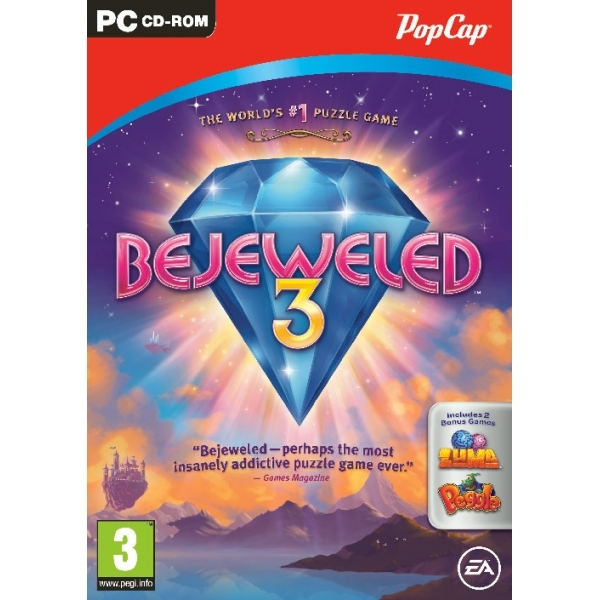 Bejeweled 3 III Game PC