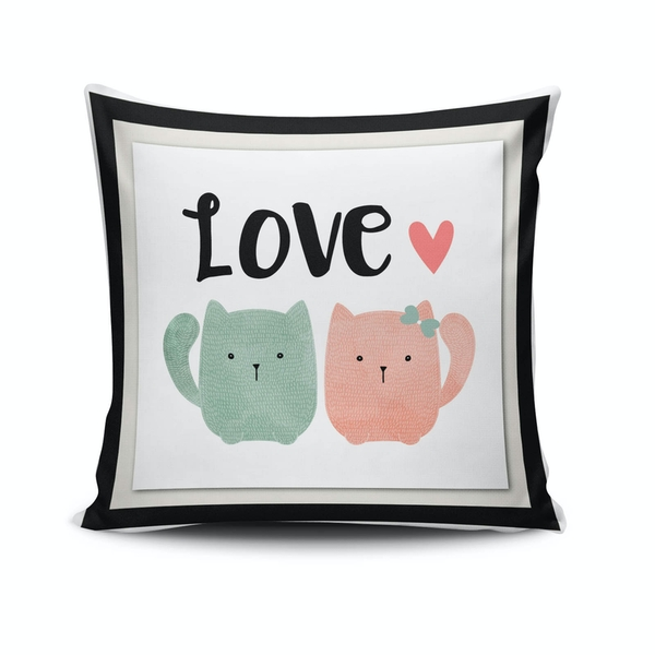 NKLF-346 Multicolor Cushion Cover