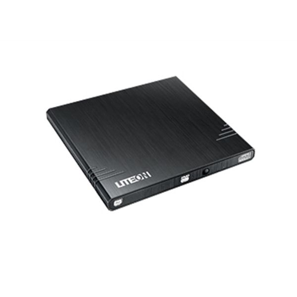 LiteOn eBAU108 Black Ultra Slender USB 2.0 External Optical Drive