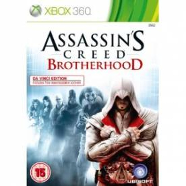 Assassin's Creed Brotherhood Da Vinci Edition Xbox 360 Game
