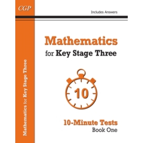 Mathematics for KS3: Book 1: 10-Minute Tests by CGP Books (Paperback, 2015)