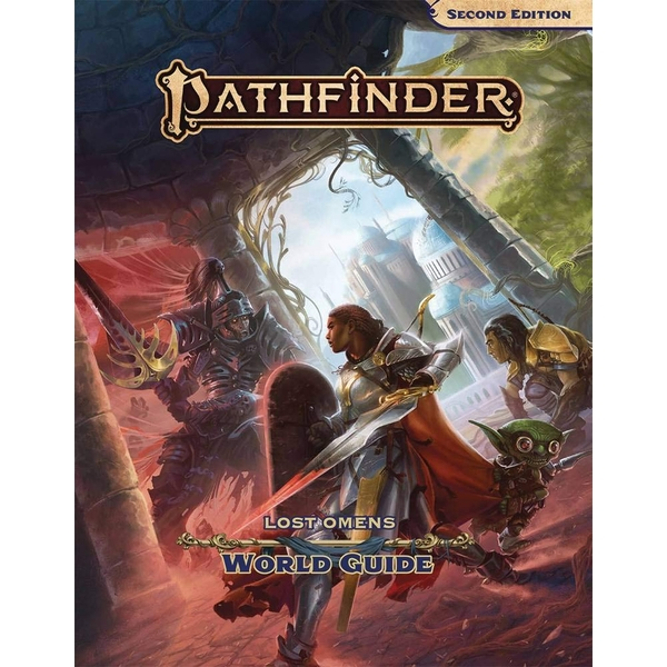 Pathfinder RPG Second Edition (P2) Lost Omens World Guide Hardcover