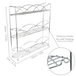 3 Tier Herb & Spice Rack | M&W Chrome  - Image 6