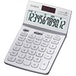 Casio JW-200TW-WE 12 Digit Desk Calculator with Tilt Display - White - Image 2