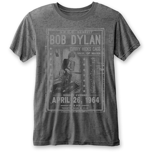 Bob Dylan - Curry Hicks Cage Unisex Small T-Shirt - Grey