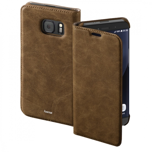 Hama Guard Case Booklet Case for Samsung Galaxy S8 , brown