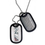 Mass Effect 3 Dog Tag N7 Logo