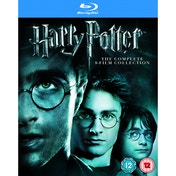 Harry Potter The Complete 1-8 Box Set Blu-ray