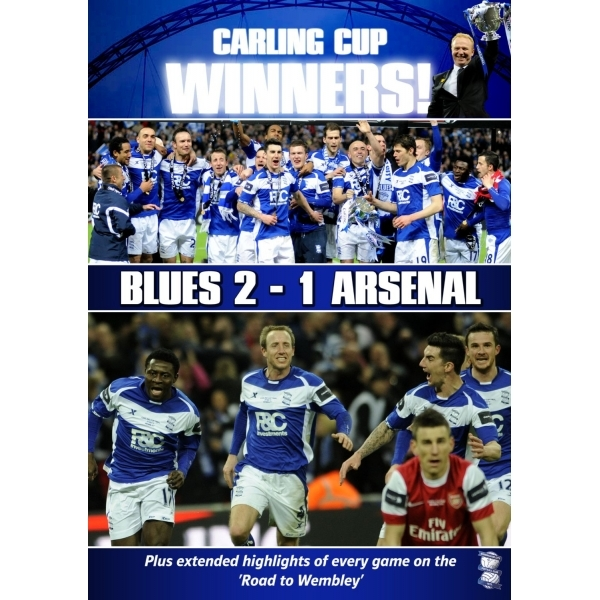 carling cup final 2011 - birmingham city 2 arsenal 1 DVD