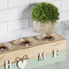 Home Tealight Candle Holder Blue | M&W - Image 4