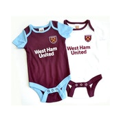 West Ham Two Pack Body Suit 2019 20 9-12 Months