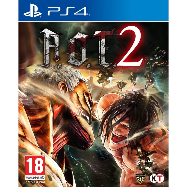 Attack On Titan 2 (A.O.T) Wings Of Freedom PS4 Game + Steelbook - Image 2