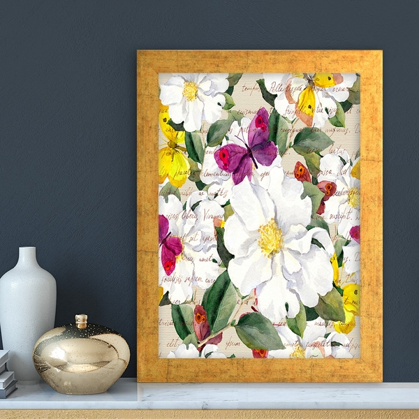 AC259101338 Multicolor Decorative Framed MDF Painting