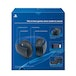 PS4 Official Sony PlayStation Gold Wireless Stereo Headset Black - Image 6