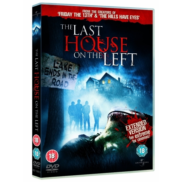 The Last House On The Left: Extended Version DVD