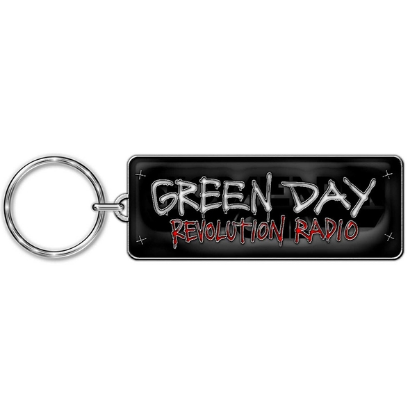 Green Day - Revolution Radio Keychain