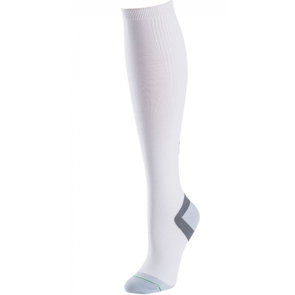 1000 Mile Compression Sock White Mens M