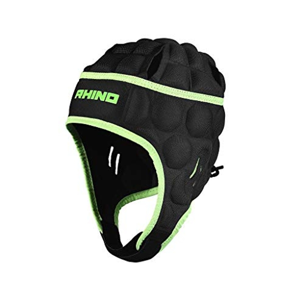 Rhino Senator Head Guard Junior Medium Boys Black/Green