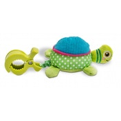 Oops Colourful and Multi-Textured Soft and Vibrating Turtle Pull-Toy Accessory
