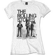 The Rolling Stones - Est. 1962 Group Photo Women's XX-Large T-Shirt - White