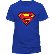 Superman - Logo Unisex XXX-Large T-Shirt - Blue