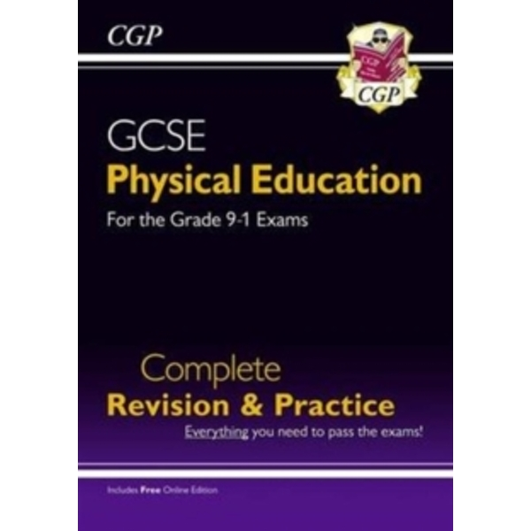 New GCSE Physical Education Complete Revision & Practice - for the Grade 9-1 Course (with Online Ed) by CGP Books (Paperback, 2016)