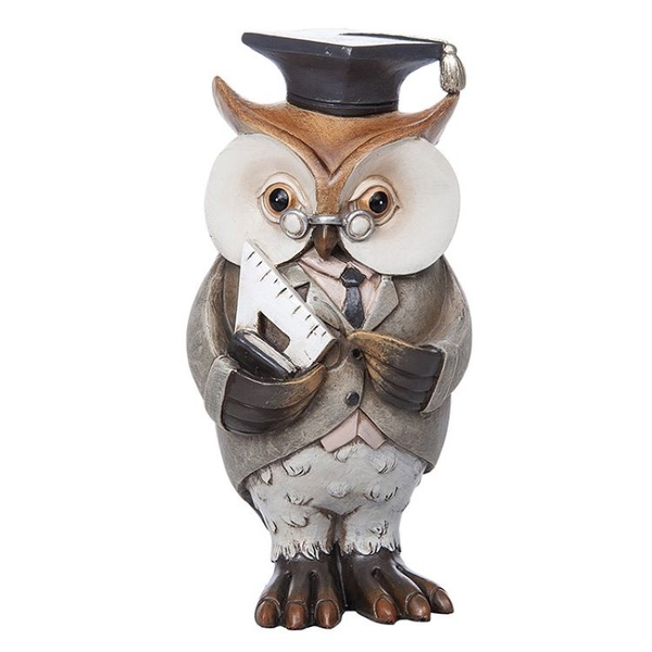 Working Owl Teacher Ornament
