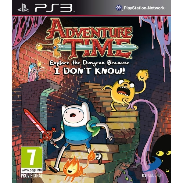 adventure time explore the dungeon because i don 39 t know game ps3