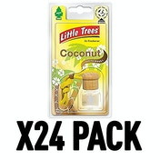 Coconut (Pack Of 24) Little Trees Bottle Air Freshener