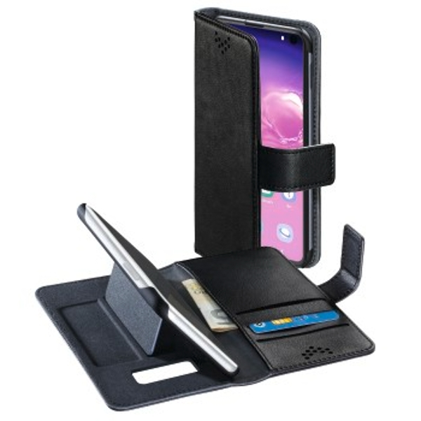 Hama Stand-Up Wallet Case for Samsung Galaxy S10e Black