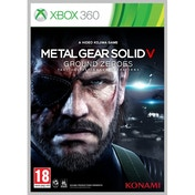 Metal Gear Solid Ground Zeroes Game Xbox 360