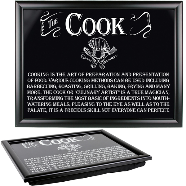 Ultimate Gift for Man Lap Trays Cook