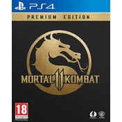 Mortal Kombat 11 Premium Edition PS4 Game (with Shao Kahn DLC and Beta Access)