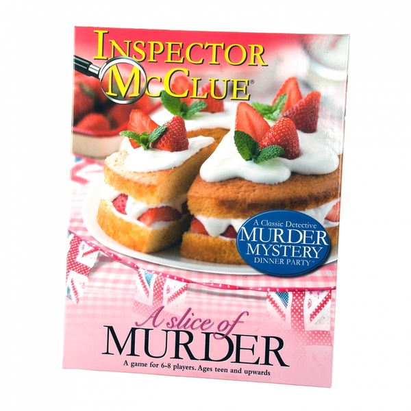 A Slice of Murder - Murder Mystery Dinner Party Board Game