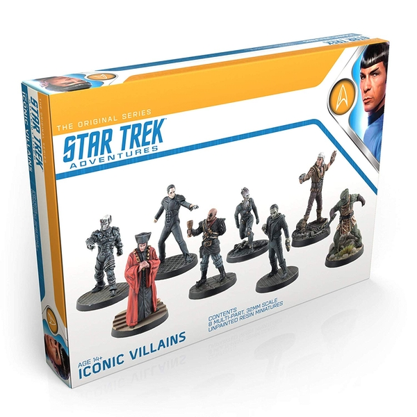Star Trek Adventures RPG Iconic Villains 32mm Miniatures