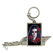 3D Keyring Sugar Skull (Pack of 10)